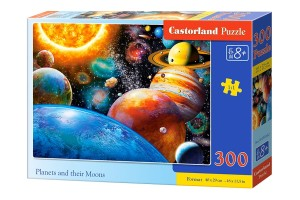 PUZZLE 300 CASTORLAND PLANETS AND THEIR MOONS