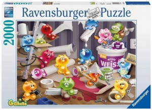 PUZZLE 2000 RAVENSBURGER GELINI HOME IMPROVEMENT