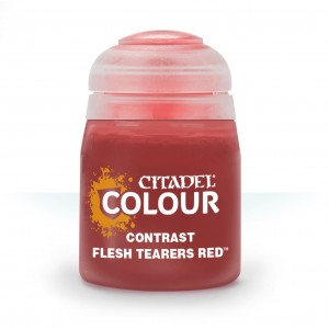 CITADEL COLOUR CONTRAST FLESH TEARERS RED 29-13