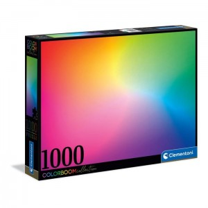 PUZZLE 1000 CLEMENTONI COLORBOOM PURE