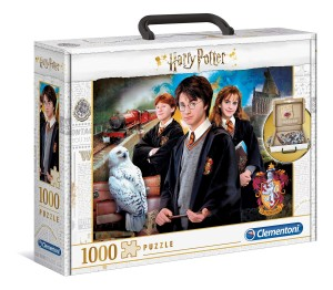 PUZZLE 1000 CLEMENTONI BRIEF CASE HARRY POTTER