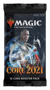 MAGIC THE GATHERING CORE SET 2021 BOOSTER
