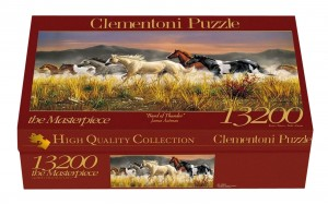 PUZZLE 13200 CLEMENTONI HQ BAND OF THUNDER