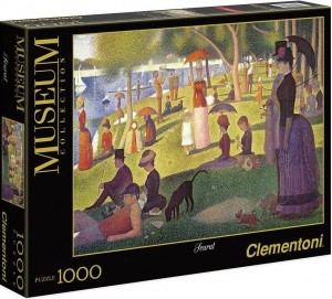 PUZZLE 1000 CLEMENTONI SEURAT A SUNDAY AFTERNOON