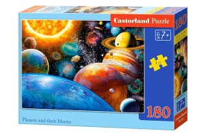 PUZZLE 180 CASTORLAND PLANETS AND THEIR MOONS