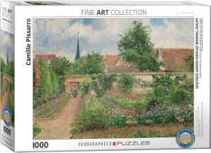 PUZZLE 1000 EUROGRAPHICS C.PISSARRO VEGETABLE ...