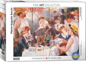 PUZZLE 1000 EUROGRAPHICS RENOIR THE LUNCHEON