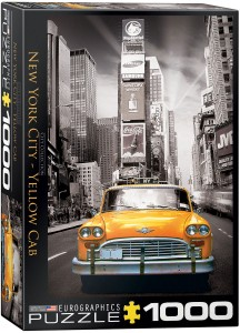 PUZZLE 1000 EUROGRAPHICS NYC YELLOW CAB