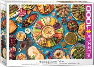 PUZZLE 1000 EUROGRAPHICS MIDDLE-EASTERN TABLE