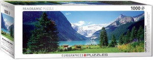 PUZZLE 1000 EUROGRAPHICS PANORAMA LAKE LOUISE