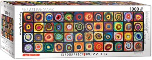 PUZZLE 1000 EUROGRAPHICS PANORAMA COLOR STUDY