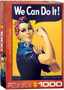 PUZZLE 1000 EUROGRAPHICS ROSIE THE RIVETER