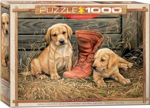 PUZZLE 1000 EUROGRAPHICS SOMETHING OLD SOMETHING
