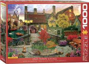 PUZZLE 1000 EUROGRAPHICS OLD TOWN LIVING