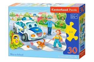 PUZZLE 30 CASTORLAND WAY TO SCHOOL