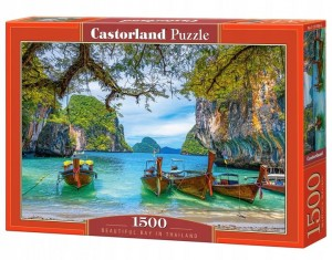 PUZZLE 1500 CASTORLAND BEAUTIFUL BAY IN THAILAND