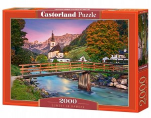 PUZZLE 2000 CASTORLAND SUNSET IN RAMSAU