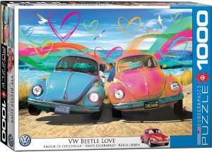 PUZZLE 1000 EUROGRAPHICS VW BEETLE LOVE