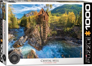 PUZZLE 1000 EUROGRAPHICS CRYSTAL MILL
