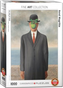 PUZZLE 1000 EUROGRAPHICS R.MAGRITTE THE SON OF MAN