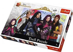PUZZLE 500 TREFL DESCENDANTS