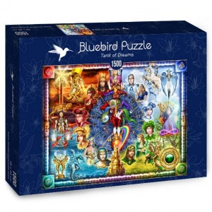 PUZZLE 1500 BLUEBIRD CIRO MARCHETTI TAROT OF DREAM