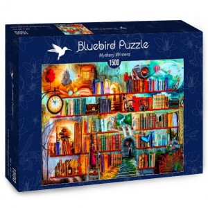 PUZZLE 1500 BLUEBIRD MYSTERY WRITERS