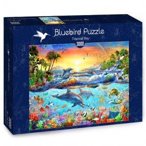 PUZZLE 3000 BLUEBIRD TROPICAL BAY