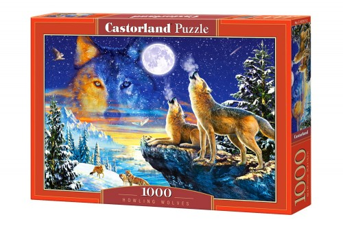 PUZZLE 1000 CASTORLAND HOWLING WOLVES WILKI-9199