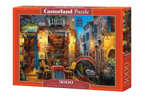 PUZZLE 3000 CASTORLAND OUR SPECIAL PLACE IN VENICE-9270