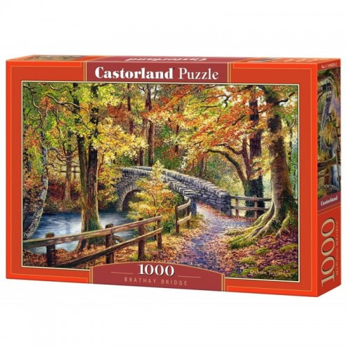 PUZZLE 1000 CASTORLAND MOST BRATHAY-13588