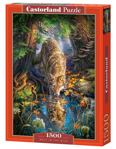 PUZZLE 1500 CASTORLAND WOLF IN THE WILD-13554