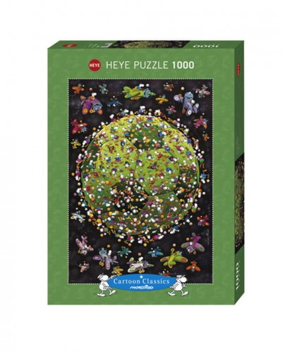 PUZZLE 1000 HEYE FOOTBALL MORDILLO-15131