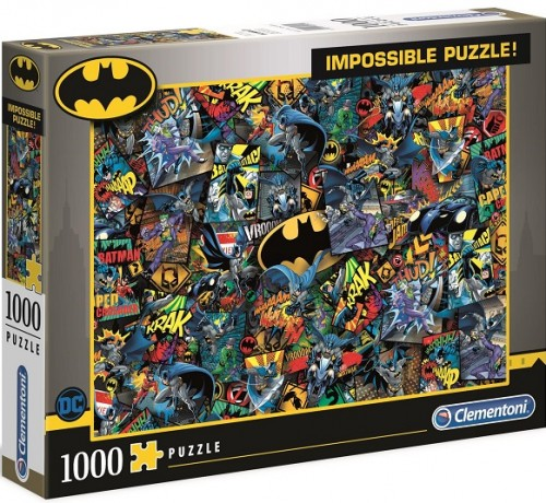 PUZZLE 1000 CLEMENTONI IMPOSSIBLE. BATMAN-15249